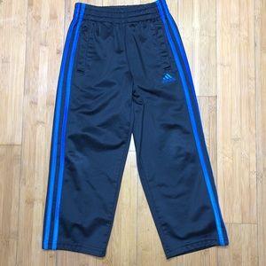 Adidas pull-on triple stripe training pant black 5